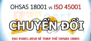 So Sánh OHSAS 18001 Và ISO 45001 – Chứng Nhận ICB