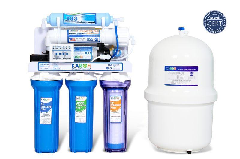 Các bước hợp chuẩn máy lọc nước